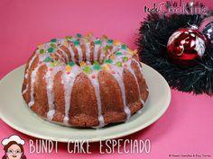 Celebra con nosotros el #DiadelBundtCake y disfruta del sabor aromático y jugoso de este Bundt Cake especiado con decoración navideña.