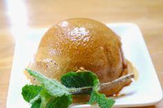 caramel jelato (soya milk,sugar,cornstarch)