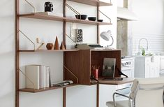 Return of a Modern Classic: The Royal System Shelving Unit by Julie Carlson