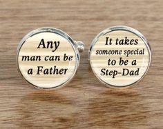 Aangepaste bruiloft manchetknopen, iedere man kan een vader manchetknopen, bruiloft cufflink, manchetknopen voor vader, gepersonaliseerde vwedding mannen Cufflink