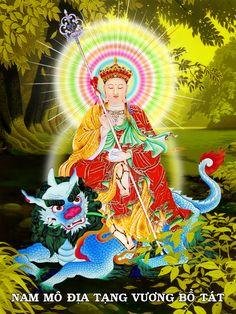 Địa Tạng Vương Bồ Tát Buddha Temple, Kundalini Yoga, Buddhist Art, Hinduism, S Pic, Buddhism, Mythology, Artist, Pictures