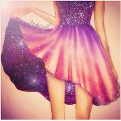 I absolutely love this dress! I want to try drawing it!