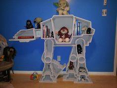 Star Wars AT-AT Bookcase #want
