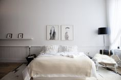 "Love the ""headboard"" idea"