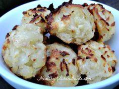 Healthy Homemade Tator Tots #recipe via HealthyKitchenGuide.com