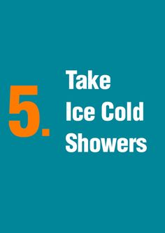 Succesful people know the value of Ice Cold Showers
