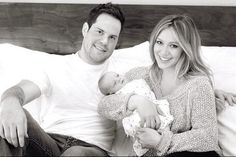 Celebrity Baby Scoop.  Such a sweet and natural family portrait!