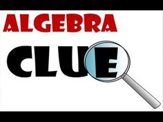 Algebra Clue is an amazing, student-centered activity that both students and teachers LOVE! Watch this video for a demonstration and to see how to get a game for your own classroom.