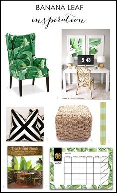 Banana Leaf Inspiration by A Blissful Nest