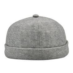 2985abc507c Woolen Cloth Navy Watch Cap   Winter Docker Hat Leon Beanie ...