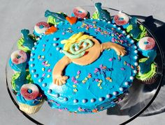Housecalls Design: A Pool Party Cake