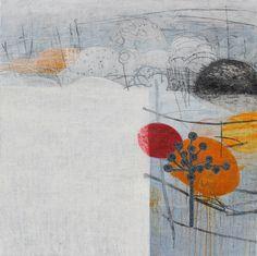 Maggie Matthews | Ghost Heart | mixed media on canvas