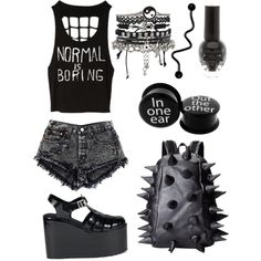 i dont like the shoes but everything else i love! ~katie the neko
