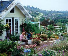 stylish vegetable gardens