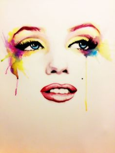Marilyn by ~ladulcevita on deviantART  | This image first pinned to Marilyn Monroe Art board, here: http://pinterest.com/fairbanksgrafix/marilyn-monroe-art/ || #Art #MarilynMonroe