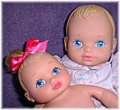 I had a Water Baby doll, until my cat nibbled off her fingers>:(