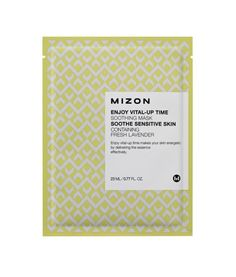 Mizon | Vita-up Time Soothing Mask to treat stressed-out skin. - Lavender extract