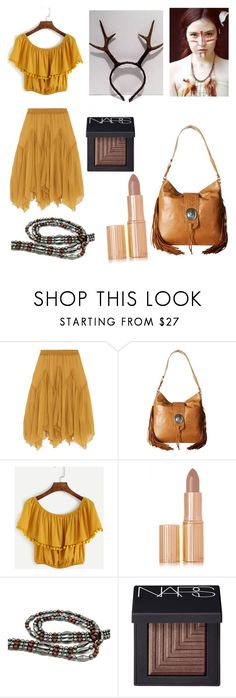 """""""Woodland Deer Sprite"""" by rainbowsuperunicornchicken ❤ liked on Polyvore featuring Chloé, American West, Charlotte Tilbury and NARS Cosmetics"""