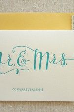 "replace ""congratulations"" with ""thank you"" and use as wedding thank you notes"