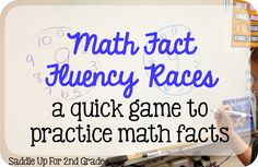 Who's Who and Who's New: Math Fact Fluency Races