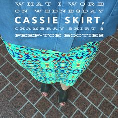 #LuLaRoeJessicaEarl #LuLaRoeCassie #WhatIWoreOnWednesday #JoinMyTeam