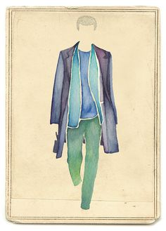 Jil Sander Spring 2011 by Little Doodles, via Flickr