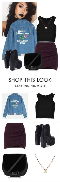 """""""Untitled #433"""" by daydreaming1821 ❤ liked on Polyvore featuring Topshop and Nashelle"""