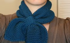 Cute Martha Stewart neck scarf!