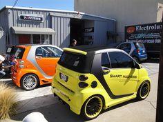 Smart For 2, Smart Car, Smart Brabus, Benz Smart, Gold Detector, Motorbike Design, Mens Toys, Cool Vans, Car Wrap