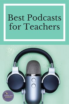 If you had a chance to listen to a podcast or read a book, which one would you pick? In full transparency, I would much rather read a book than listen to a podcast. But...I have found that podcasts are a form of self-care that is easy to manage. They can also be a great form of professional development or a much-needed brain reset. What's more, I can listen to them while I'm cooking dinner or even when I'm working on a blog post! #englishlanguagearts #professionaldevelopment #p Instructional Strategies, Instructional Design, Teaching Strategies, Teacher Interviews, Professional Development For Teachers, Teaching Profession, First Year Teachers, Cooperative Learning, Teacher Organization