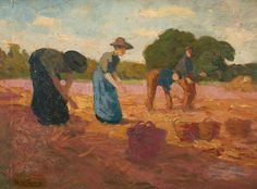 Willem de Zwart,  Peasants Working the Land