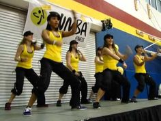 Razor Fitness Zumba WI - Yellow Team - Shawty Got Moves by Get Cool