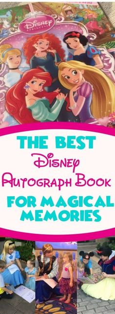 If you are looking for a simple, easy idea to collect Disney autographs, look no further than this book. Turning this regular book into a Disney autograph book has created some of our most magical Walt Disney World Memories.
