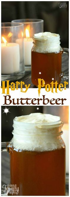 Our Version of Harry Potter Butterbeer tastes just like what they sell at the Wizarding World of Harry Potter. A no-cook method that is SO easy! Informations About Harry Potter Butterbeer Pin You can Beer Mug Cake, Beer Can Cakes, Easy Butterbeer Recipe, Dip For Beer Bread, Smoothies, Beer Cheese Soups, Harry Potter Food, Harry Potter World Butterbeer Recipe, Beer Recipes