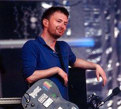 Thom Yorke - Radiohead - Fender Jazzmaster  Guitar