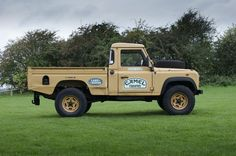 Actual Camel Trophy Vehicle Not Replica. An original and rare, Land Rover Camel Trophy, 110 defender Turbo-Diesel Hi-cap, Single cab pickup, that was a support vehicle in the 1993 Sabah-Malaysia Camel Trophy Rally. | eBay!
