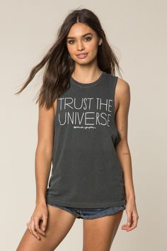 Trust the Universe Rocker Tank - Spiritual Gangster