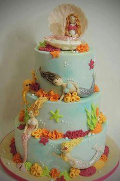 Mermaid Cake love love love ♥♥♥