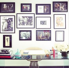 Striking Desk Designs - Interior Designers on Instagram - House Beautiful