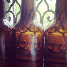 Emty bottels.