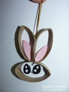 Toilet Paper Roll Rabbit ~ Easter Craft
