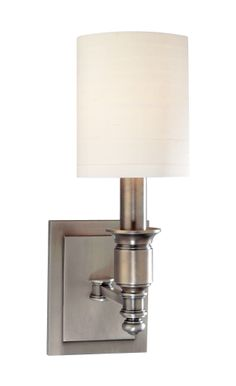 Hudson Valley Lighting Whitney 1 Light Wall Sconce | Wayfair   Overall dimensions: 13.25'' H x 5'' W x 7.5'' D  Wattage 60