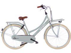 Spirit Mona N3 Groen Transport Moederfiets | € 349,- | City-Bikes.nl