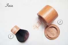 The organic mineral silk foundation is made with natural and organic ingredients, so you look  http://qoo.ly/533q9