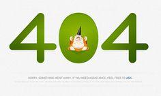 Zendesk - 404 Error Page