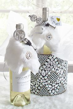 Here's what all the best-dressed wines are wearing this holiday season. Present your gift of wine with a little panache by wrapping the bottle in a faux fur stole from Pier 1. And because you know you'll be in demand for several Christmas and New Year's Eve parties, you should pick up a few for hostess gifts, too.