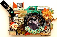 Mini Album by Irene Tan using new Bo Bunny Mama-Razzi 2 Collection