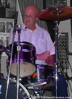 Jim Hurcomb - Drums Ottawa Canada, Big Chill, Blue Band, Drums, Music, Musica, Musik, Percussion, Muziek