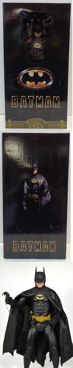 Batman 146023: Batman Micheal Keaton 1 4 Scale Action Figure (1989) Neca New -> BUY IT NOW ONLY: $159.99 on eBay!