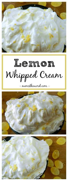 Lemon Whipped Cream is a lemon lovers delight. 2 ingredients – heavy whipping cream and lemon curd. Simple, delicious and perfect on so many things!